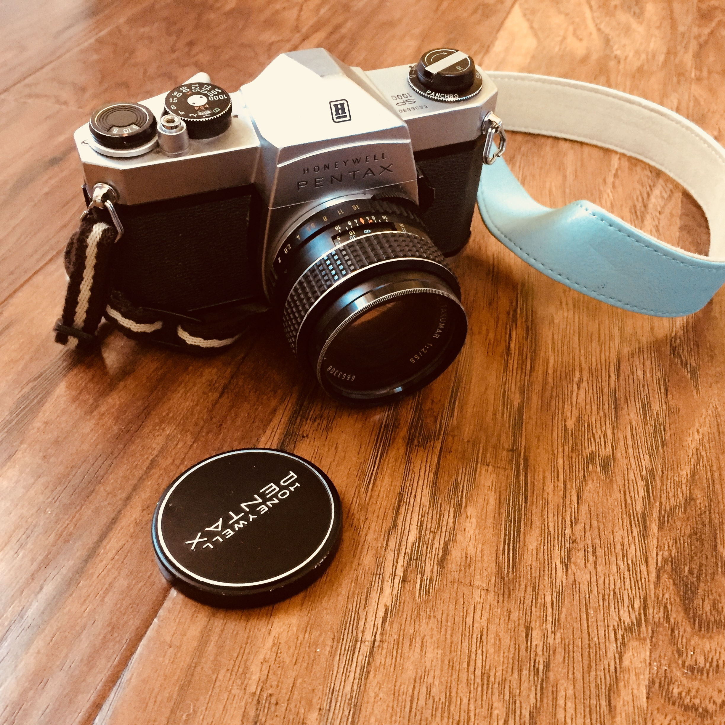 My first camera was a Pentax SP-1000, acquired at the ripe old age of 12. Little did I know that it would be the thing that helped me launch a freelance career in photography!