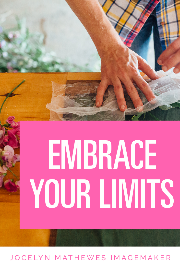 Endless time and money don't inspire someone towards greater productivity or better work! The secret to great creativity is embracing your limits--whether they be your medium, your time constraints, or your physical limitations. Click through to read more about how powerful accepting & embracing our limits can be!