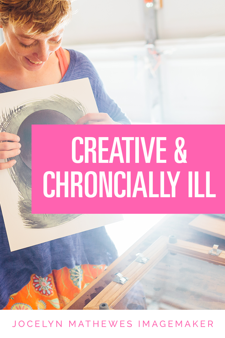 Struggling with limitations isn't new to this artist -- read my story of chronic illness & thriving in creativity!