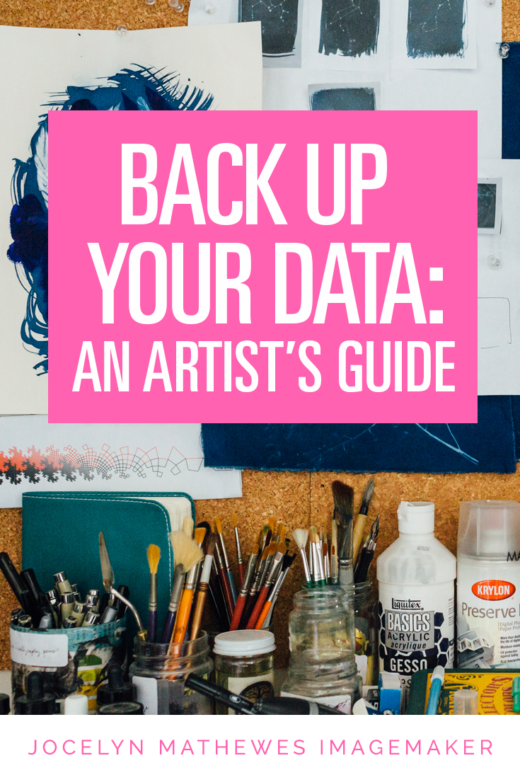 Have you ever had hard drive failure? Do you know where all your important files are, and if they're safe? Click through to read more about how to keep your important files backed up and organized in an artists' workflow.