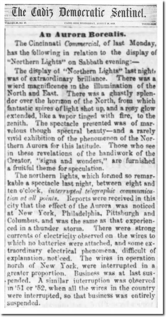 "31 Aug 1859, 1 –  The Cadiz Sentinel  at ""newspapers.com"""