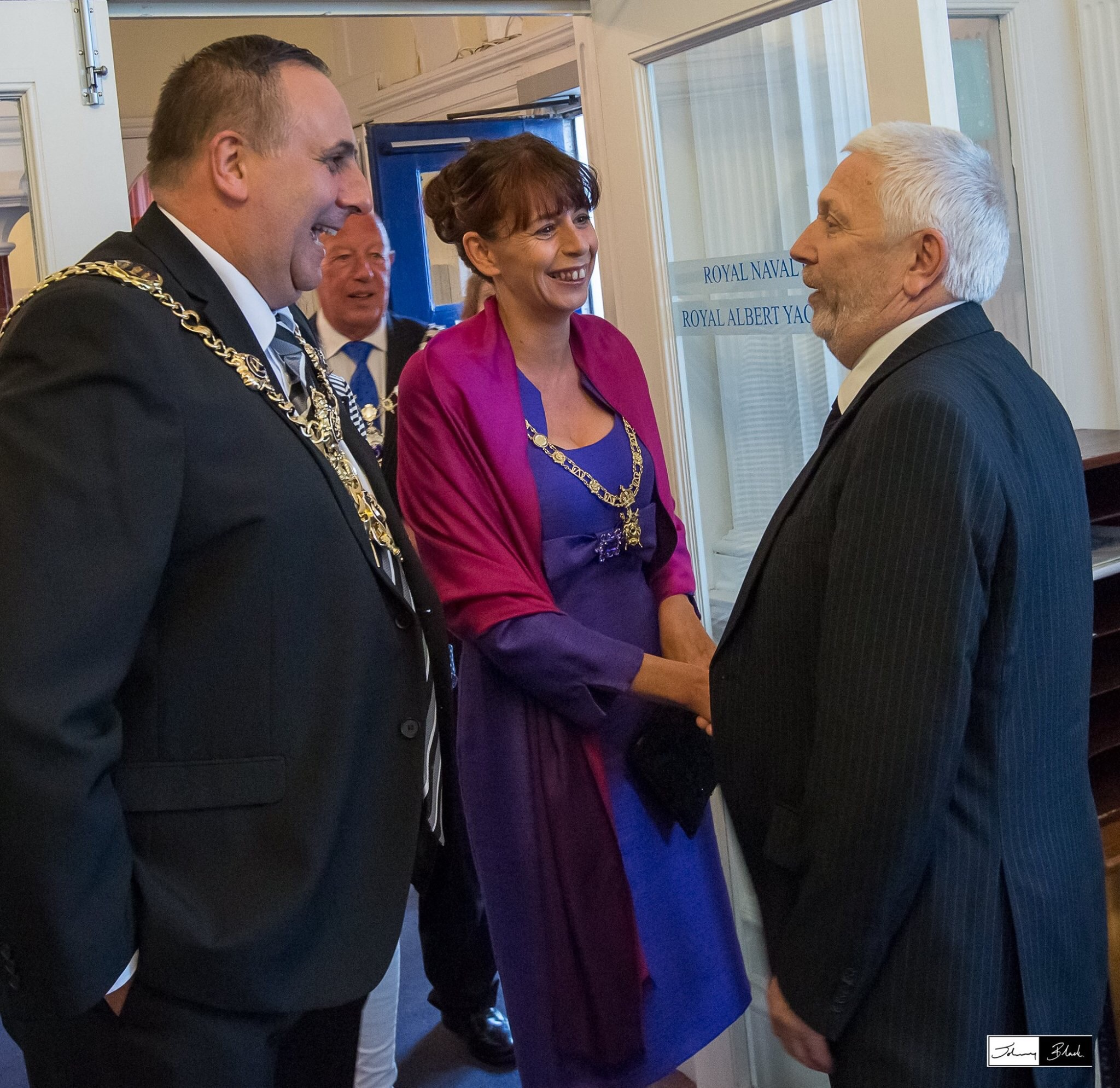 Alan meeting with Portsmouths new Mayor David Fuller