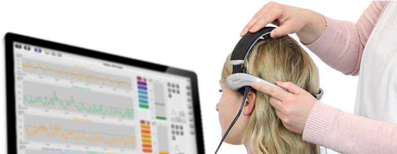 NeXus EEG headset with NeXus 10 and Biotrace+ software