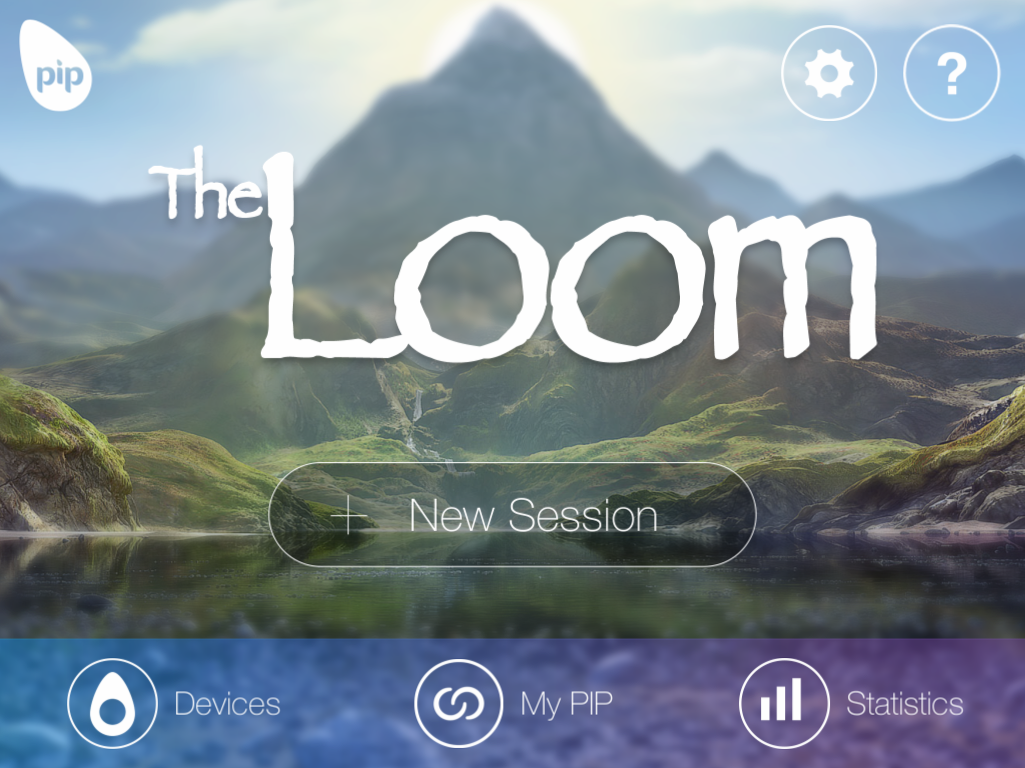 The Loom is one of the suite of Apps using EDA biofeedback to enhance relaxation and manage stress