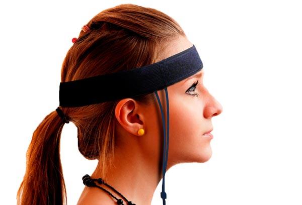 BVP Sensor in the headband can be useful in headache biofeedback