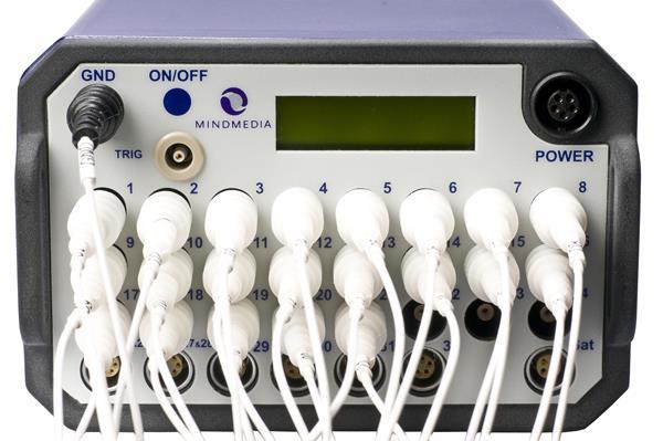 Connecting the NeXus EEG adaptor to the NeXus 32