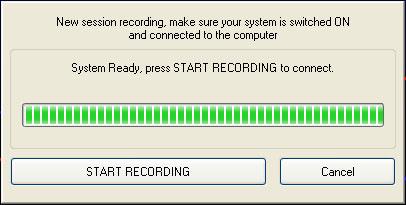 The Start Recording Dialog Box