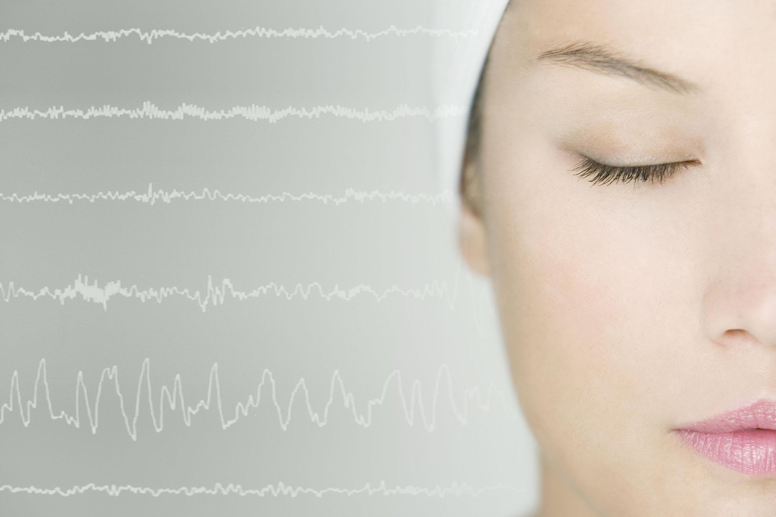 LORETA relates surface EEG data to activity in specific brain regions