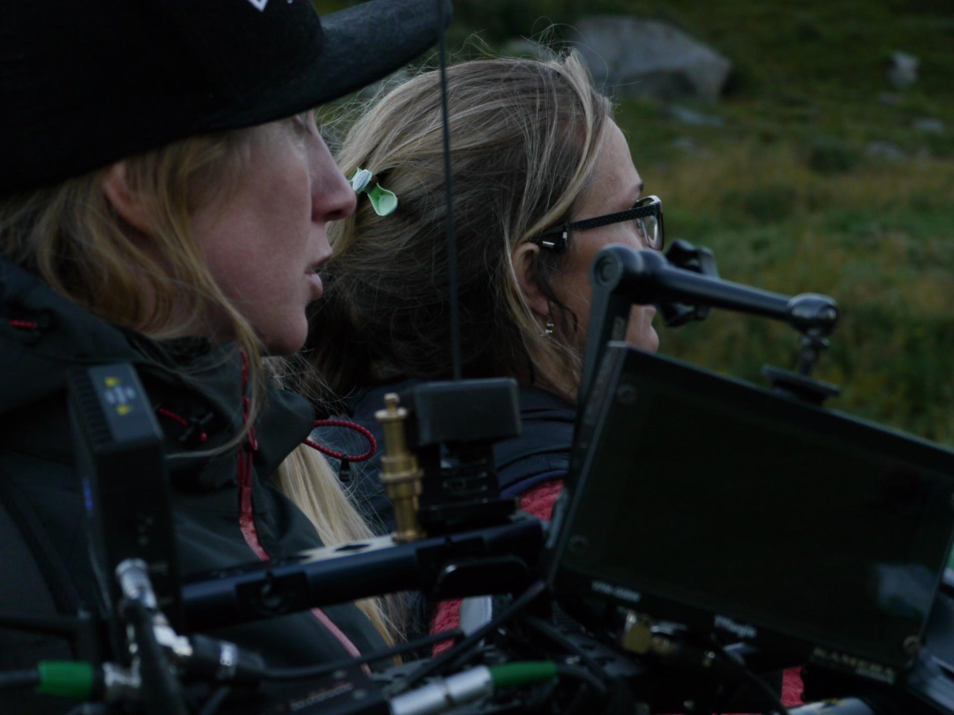 Fotograf  Annika Summerson og regissør Marianne Ulrichsen.