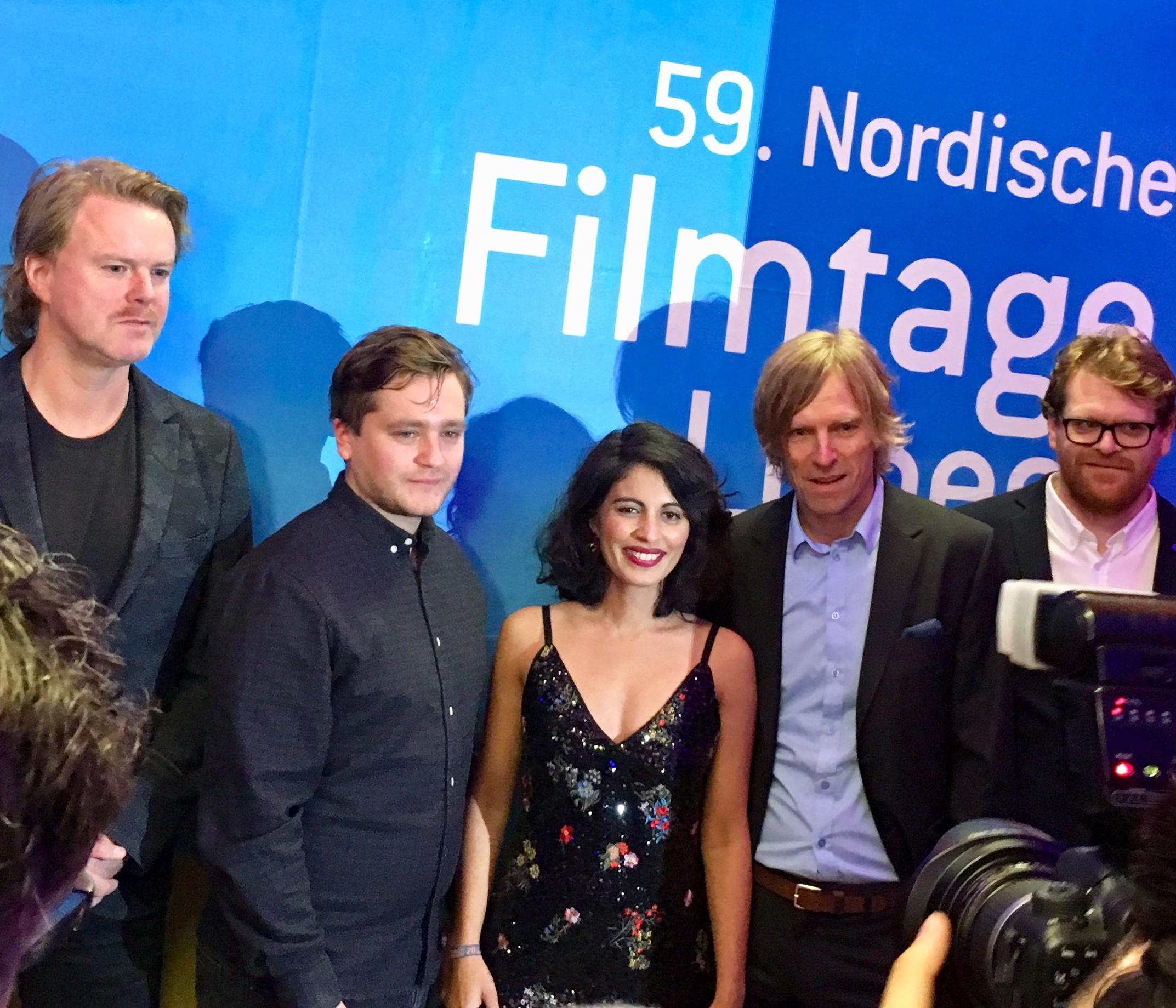 Regissør Iram Haq før prisutdelingen på Nordiske filmdager i Lübeck. Filmen vant publikumsprisen og fikk hederlig omtale av hovedjuryen.