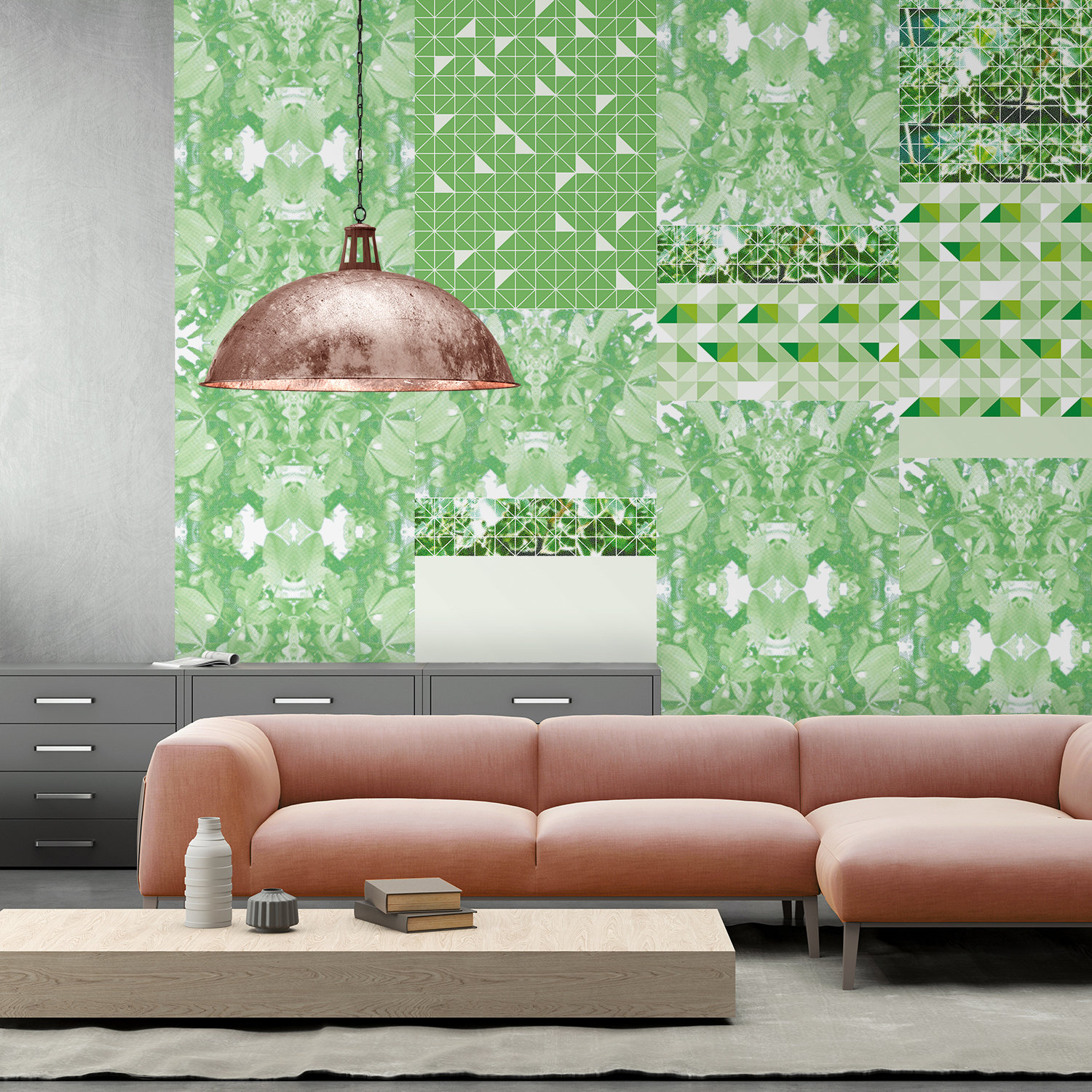 Verde Wallpaper - Mismatch 18 Collection