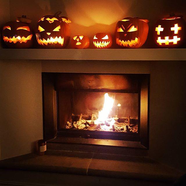 Happy Halloween! #pumpkin #halloweenpumpkin #fire #scarypumpkin