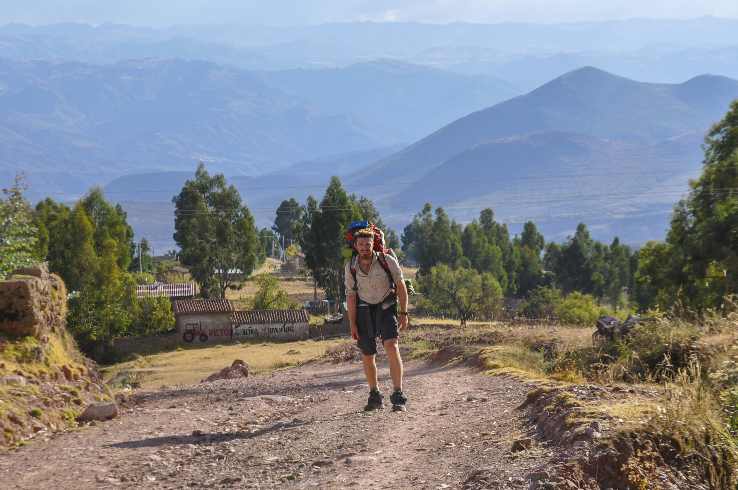 Hiking back up to 4,000m