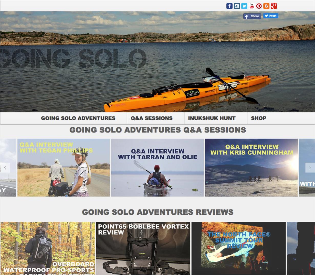Going Solo Adventures