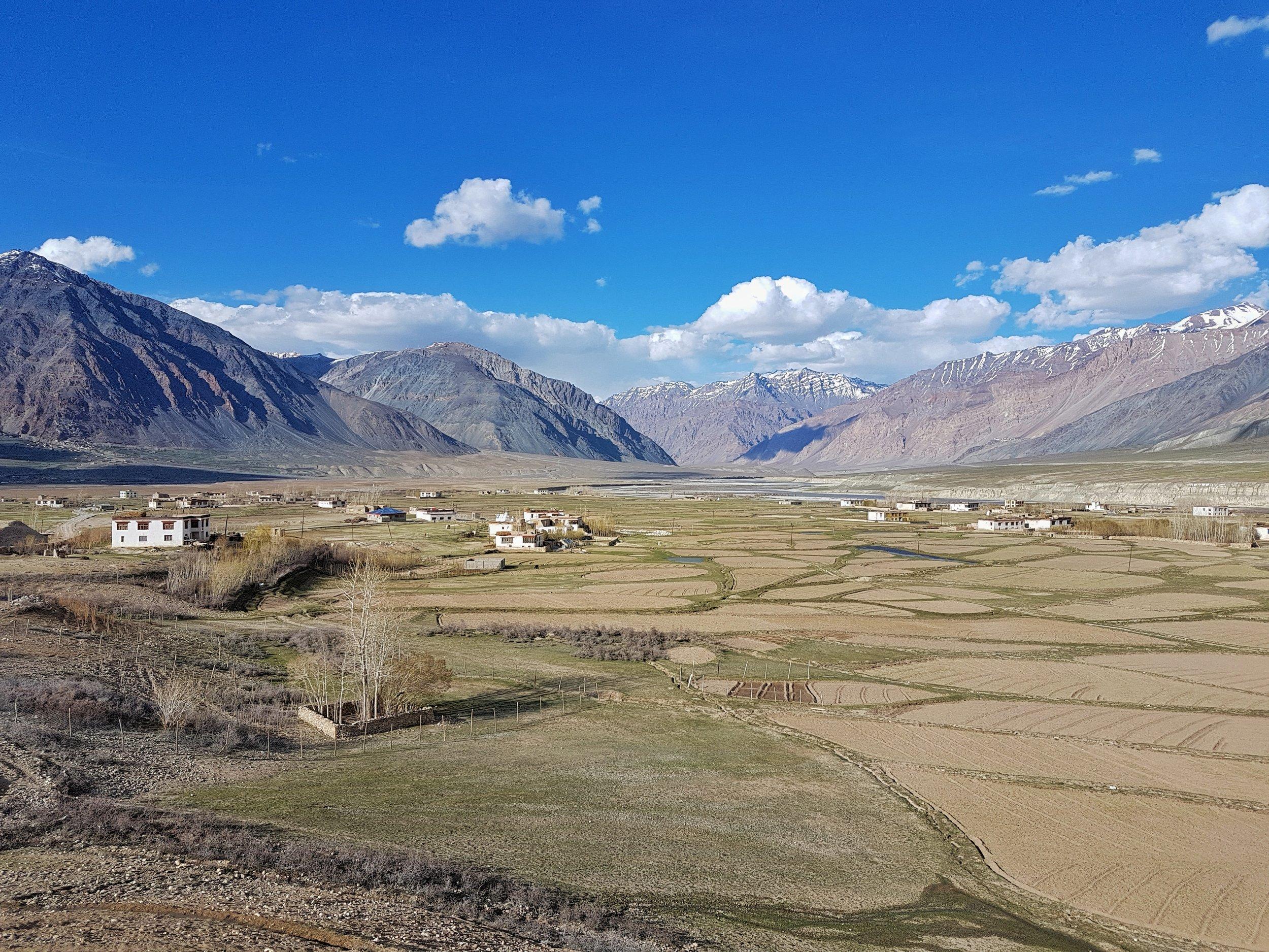 The flat valleys of Padum