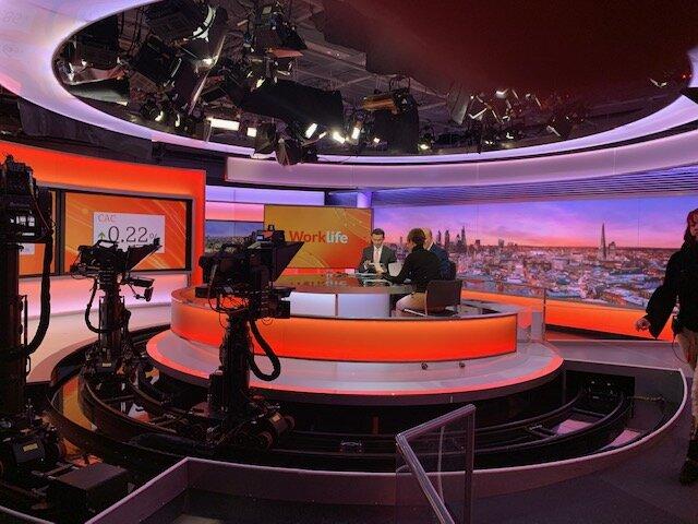 BBC Work Life - Kirsty Bashforth appearance on BBC Work Life Programs 8.30 am 11th October
