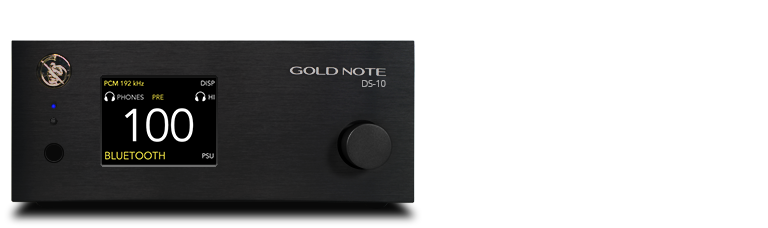 NEW: DS-10 - DAC + Streamer + + Line preamplifier + Headphones Amp..CONVERTITORE D/A + STREAMER + PREAMPLIFICATORE LINEA + AMPLIFICATORE CUFFIE