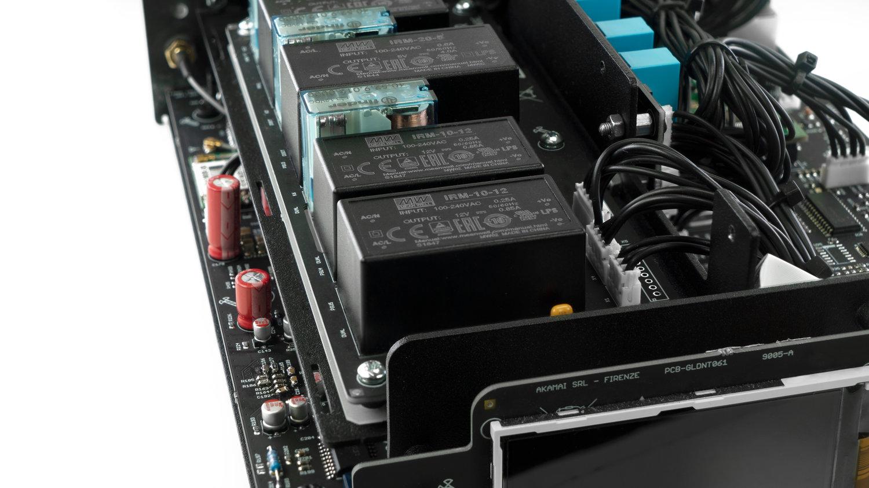 Ampwom gold note ds10 d/a converter, streamer & headphone amp - wom