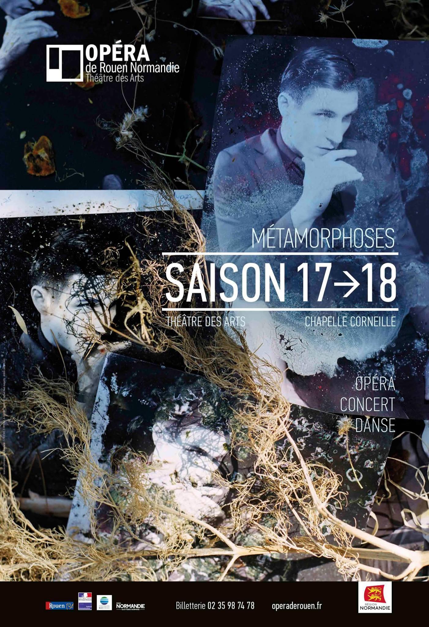 Opéra de Rouen  Official poster for Season 2017-18