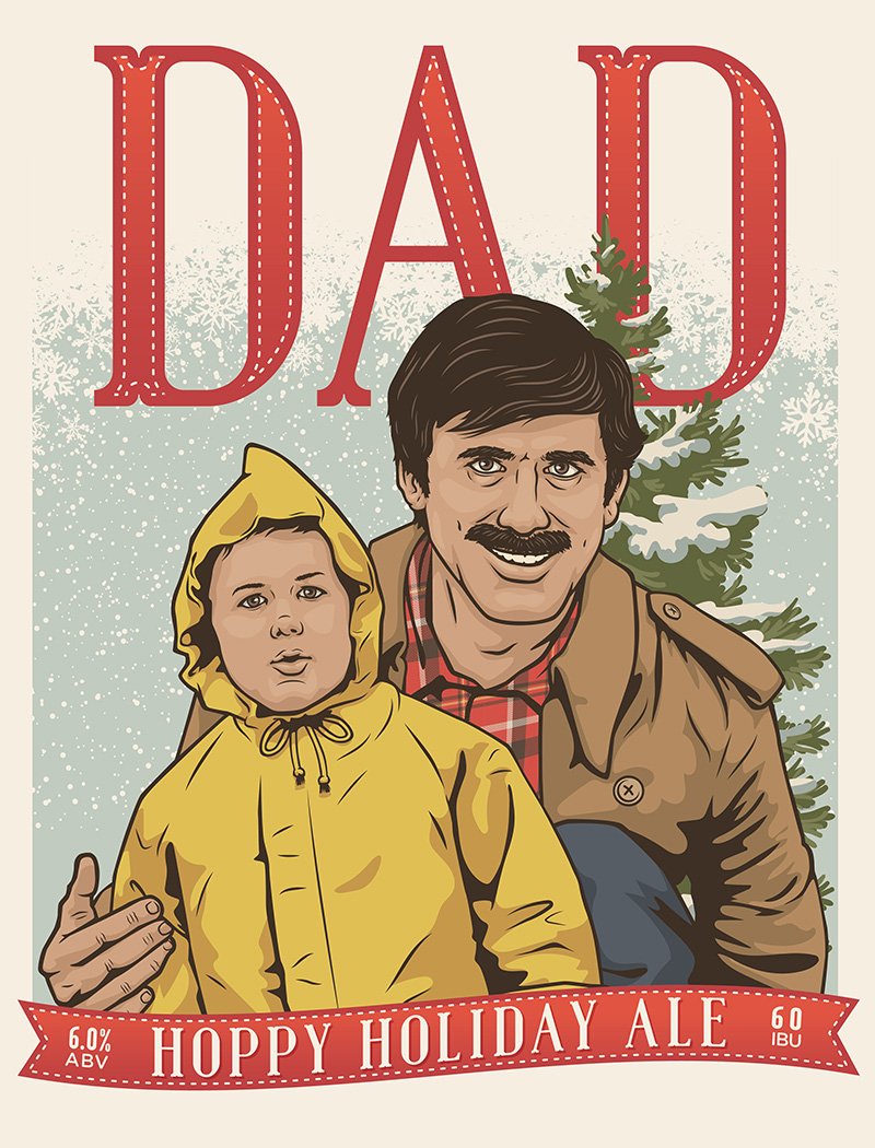 Dad - Rhinegeist Label