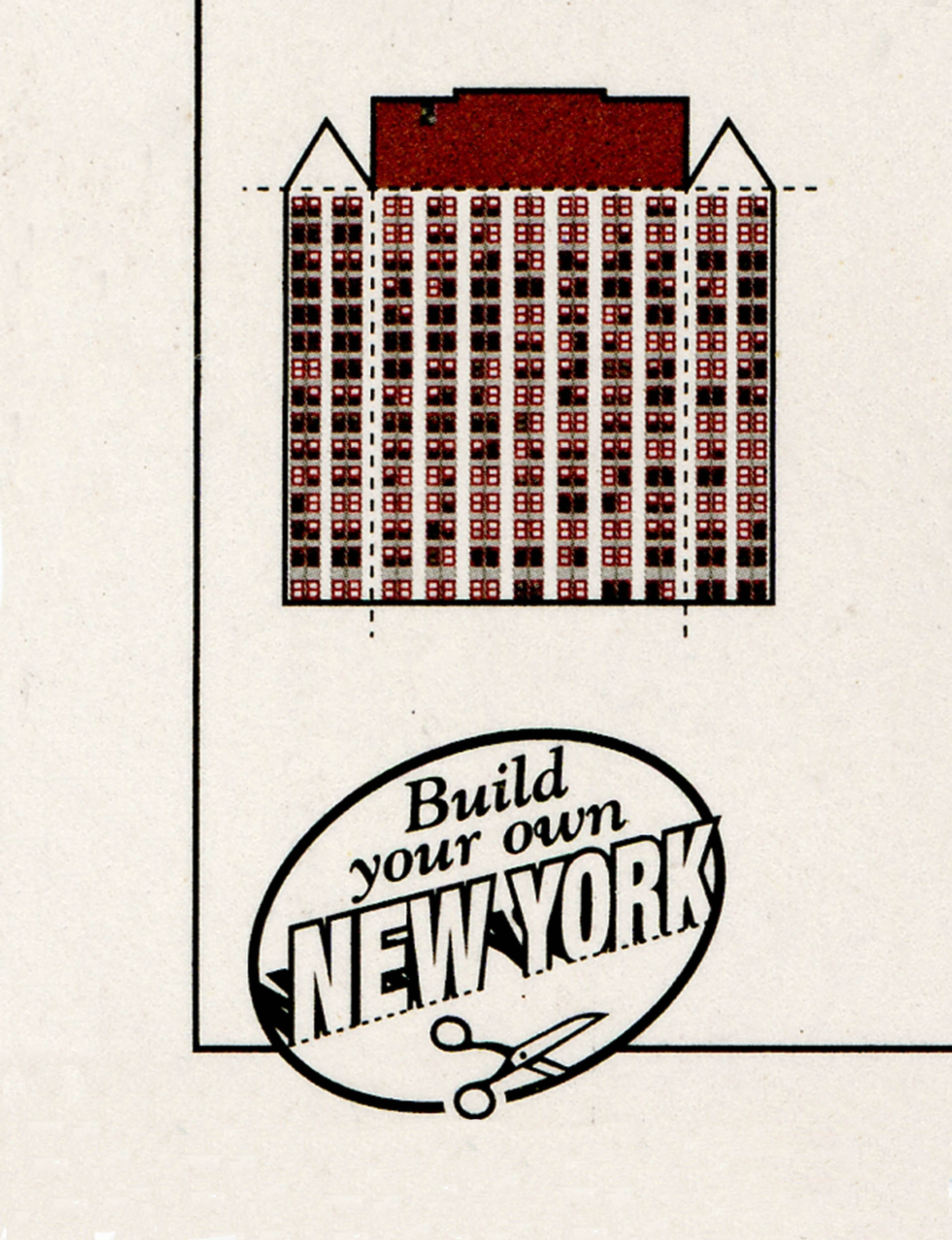 Build your own New York,  2015