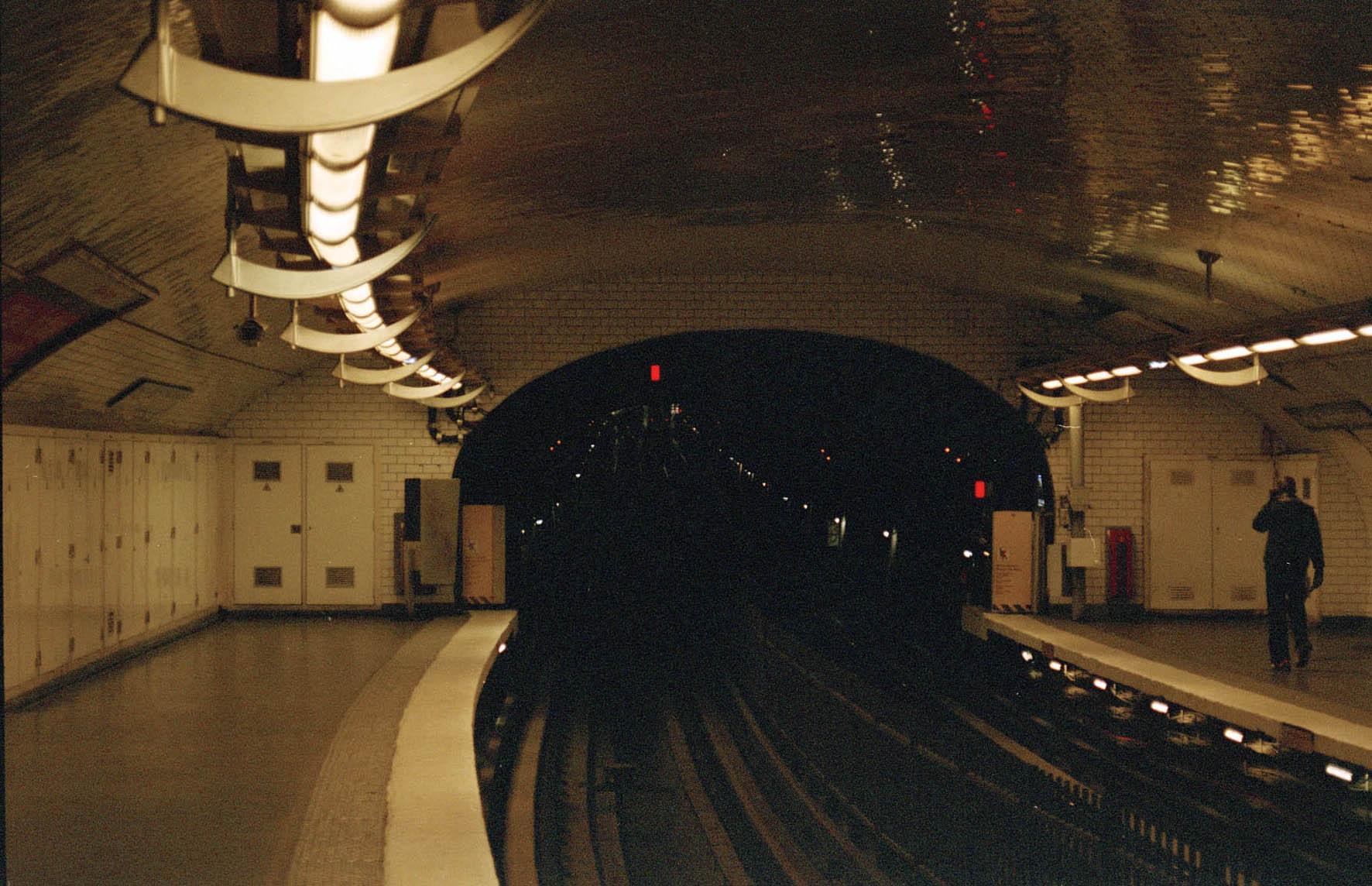 Metro, Paris 2011  c-type print unframed 33 x 21 cm