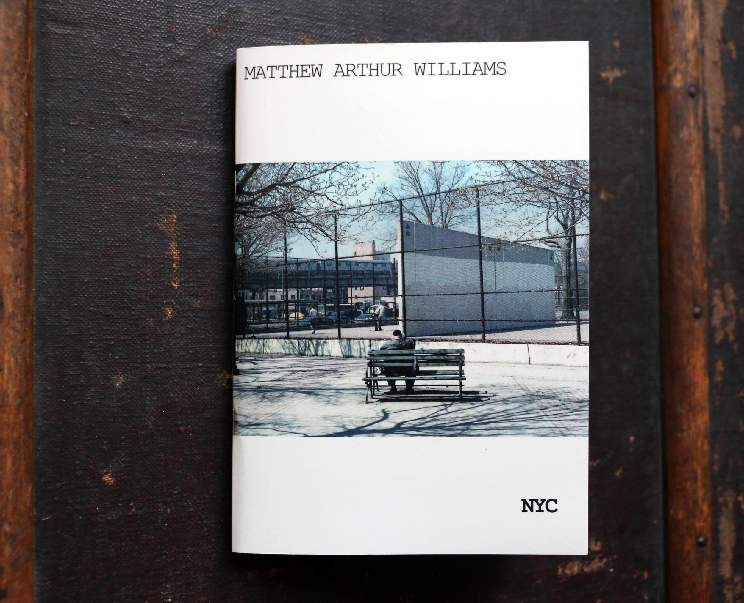 NYC    A5, 56 pages, Full color digitally printed, Saddle stitched, Softcover, Hand numbered, Ed. of 100, 2015   An intimate, subtle view of New York City mixed with snippets of poems by the city's own Langston Hughes.   Purchase from  Good Press ,  Street Level Photoworks and  Aye Aye Books (CCA Glasgow).