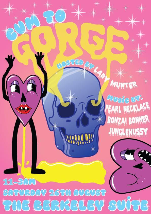 Gorge  Bonzai Bonner • Junglehussi • DJ Pearl Necklace he Berkley Suite 26th August 2017
