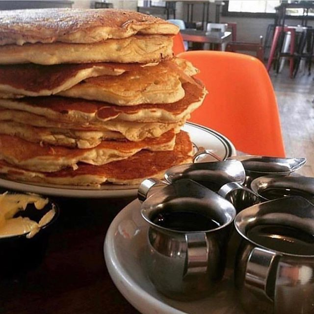 Nothing says happy Father's Day like a nice stack of pancakes #breakfastcuresall #ucbearcats #eat513 #cincyeats