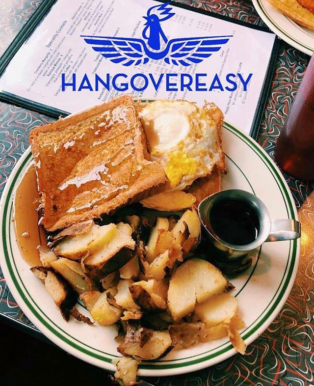 Start the week off right with breakfast at Hangovereasy #breakfastcuresall #eat513 #ucbearcats #cincyeats