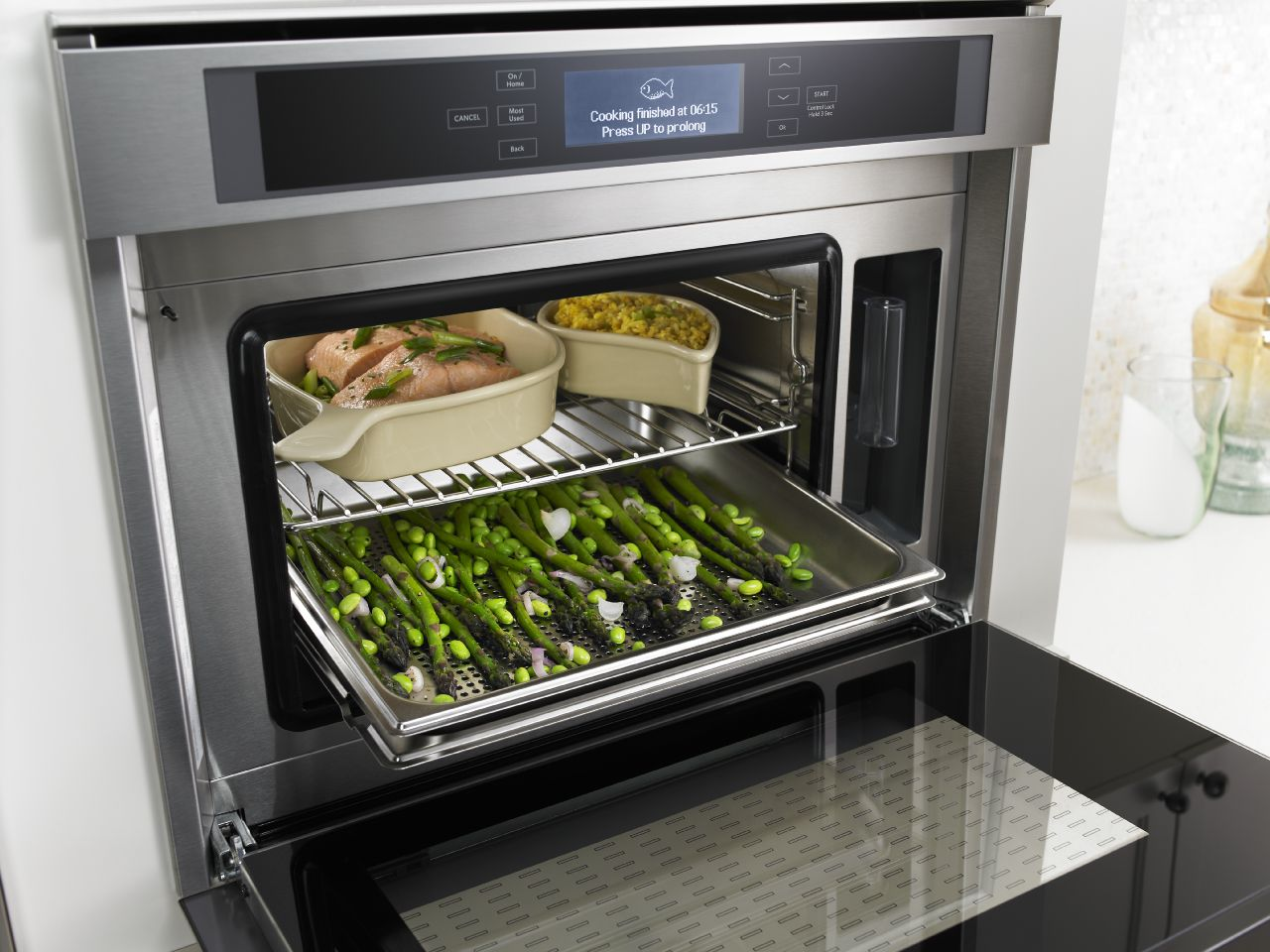 Steam ovens are a new favorite in today's kitchens of cooking enthusiasts. It might be the most versatile appliance you'll ever have in your kitchen.