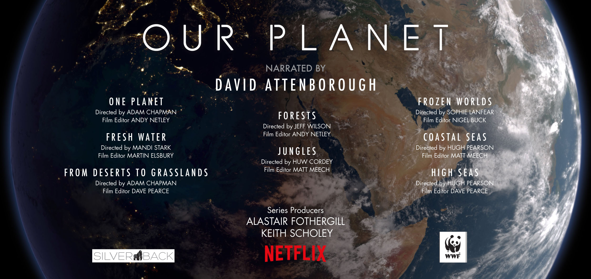 Our Planet - Silverback & Netflix