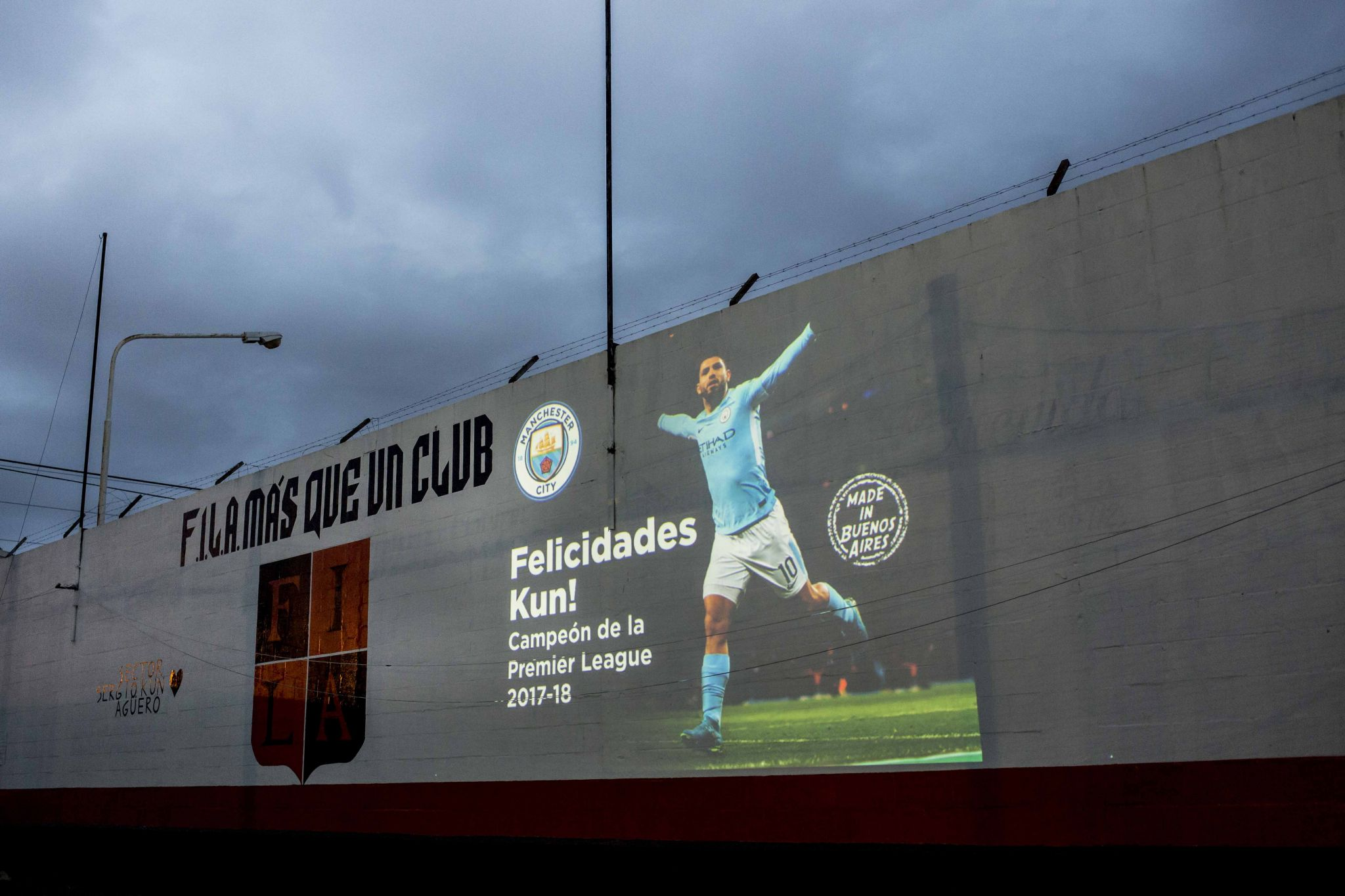 Manchester City's Projections Event