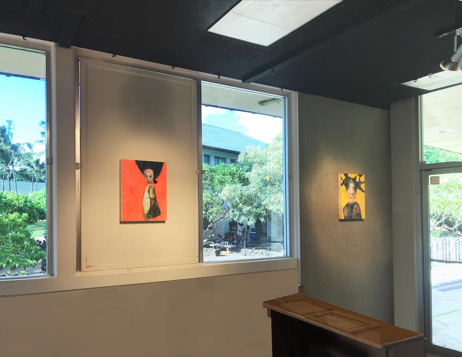 Kirsch Gallery-Installation View, Short Wall II (2017)