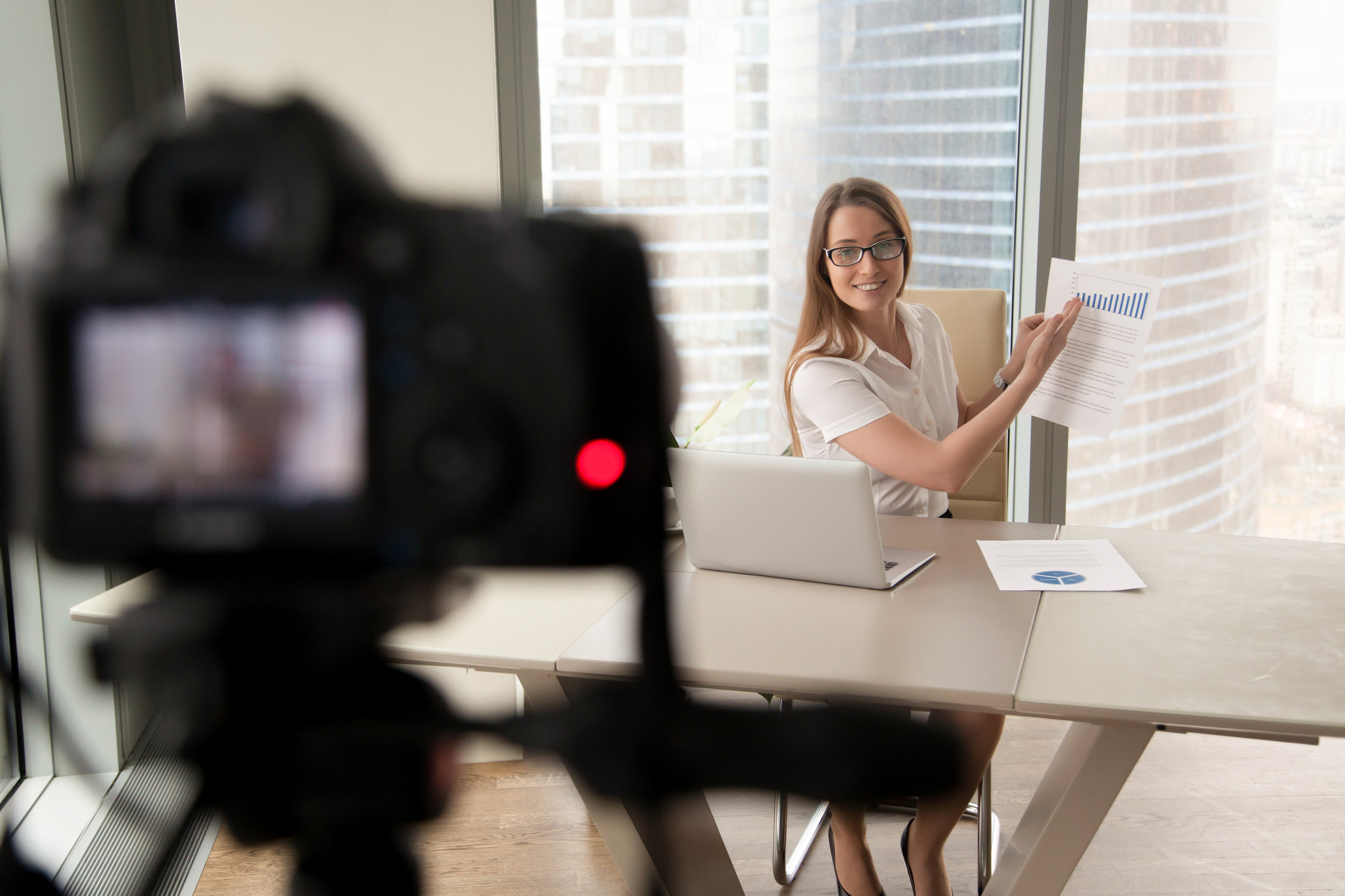 Video blogs can be a great tool to showcase your expertise in a more animated, humanized way than through boring text and newsletters