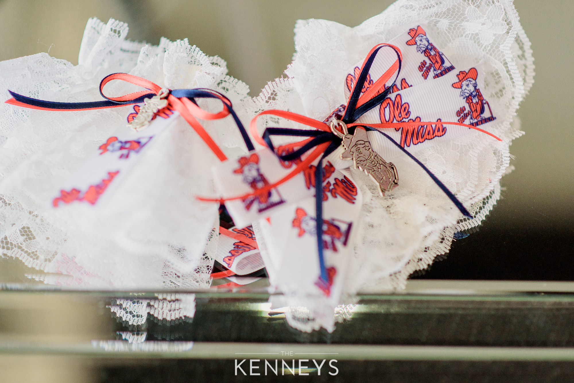 and don't forget the REBEL garter to surprise the Ole Miss groom too!