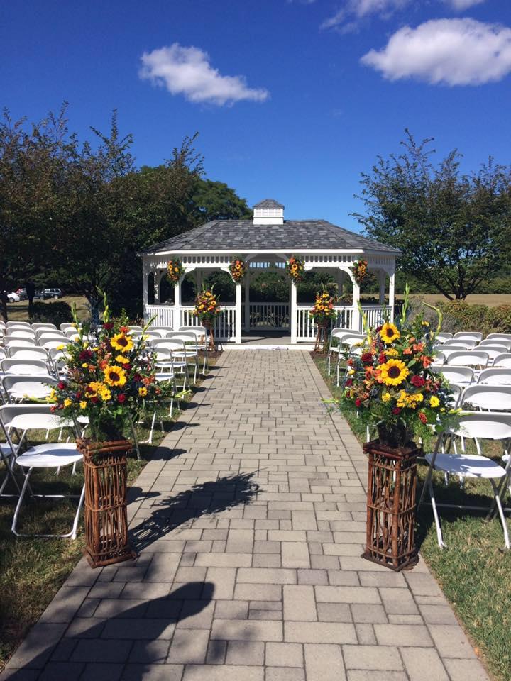 Fall Wedding Gazebo
