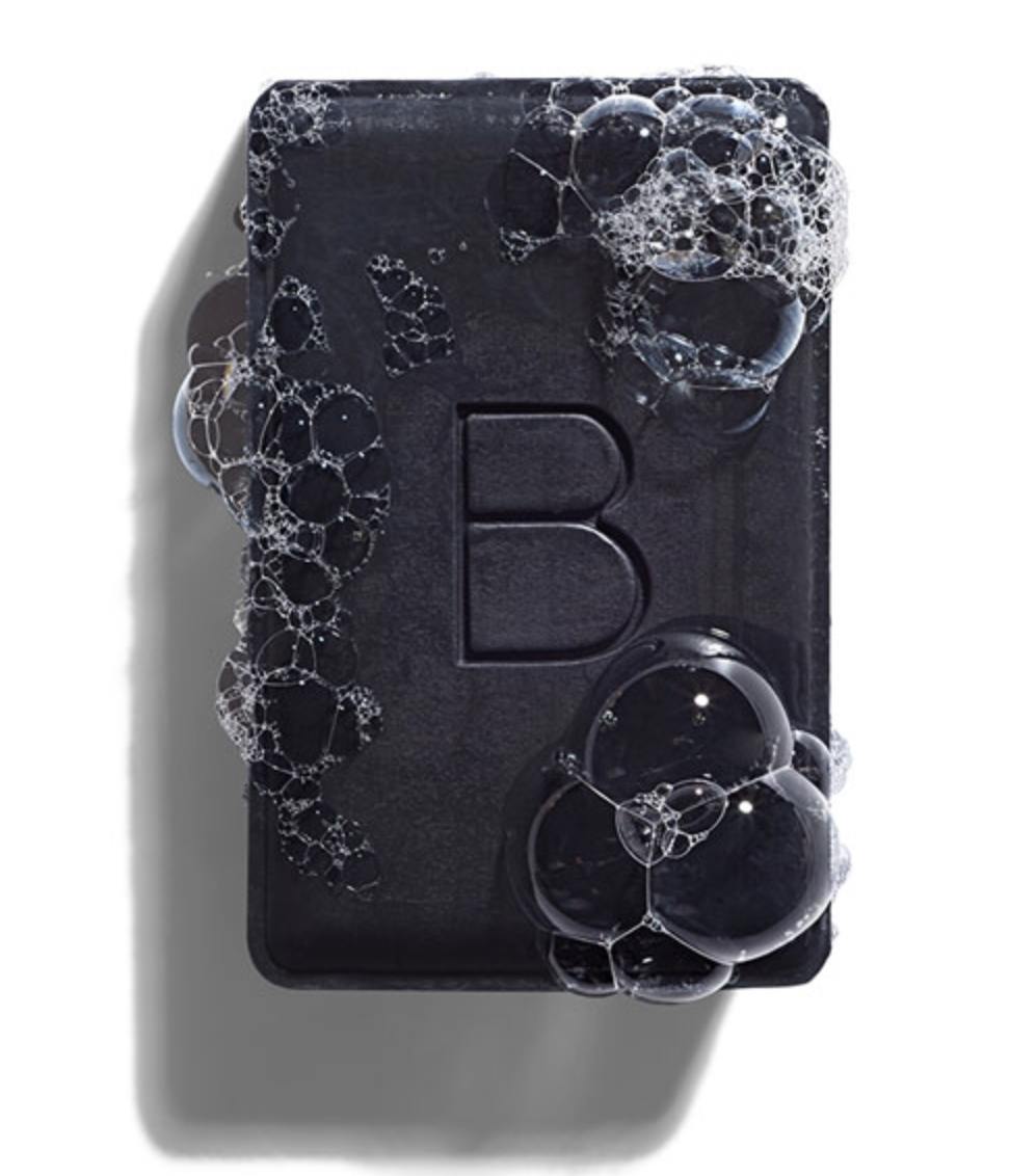 Cleanse with the Charcoal Bar.  (Detoxes and removes impurities without over-drying.)
