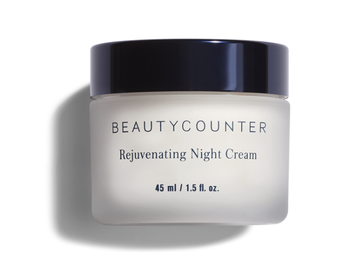 Apply Beautycounter's Rejuvenating Eye Cream.   (Reduces puffiness and diminishes the appearance of fine lines and dark circles)