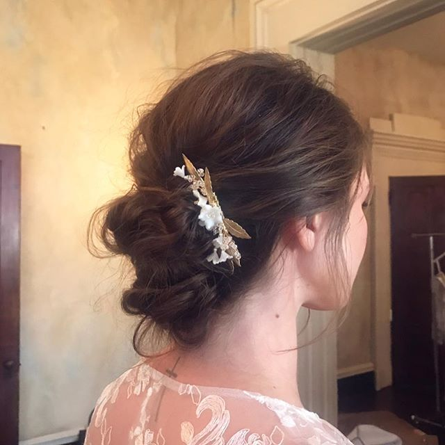 Whether classic, textured, or de-constructed and redefined, I think bridal buns have been under-rated recently. Let's create more of them this year, shall we? {buns by me💁🏻‍♀️}