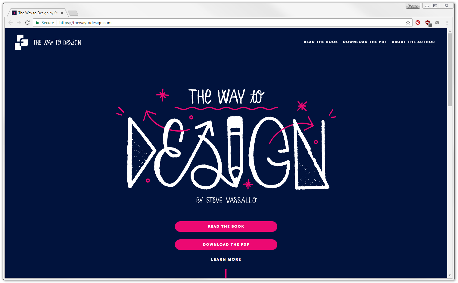 Steve Vassallo - The Way to Design