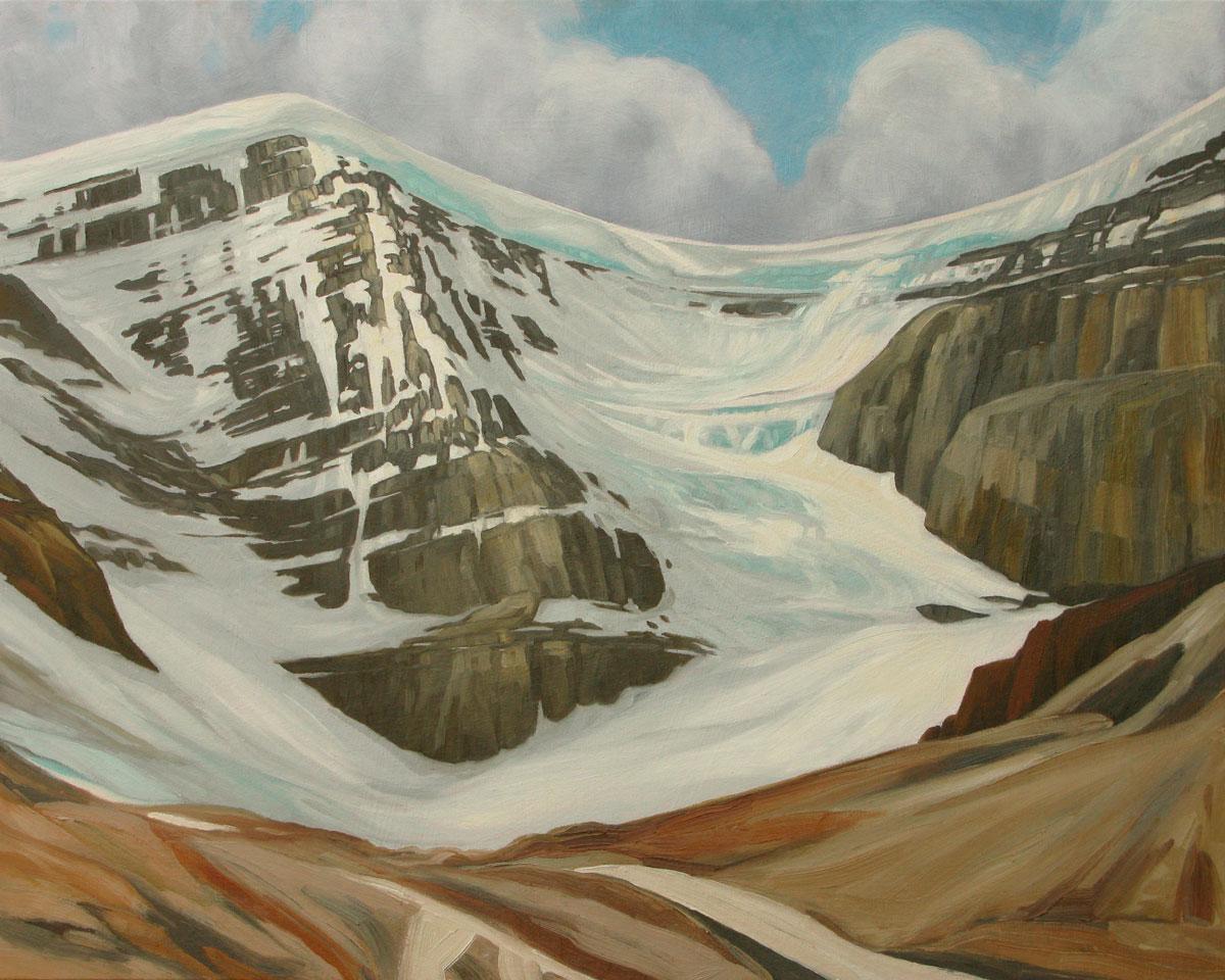 Dome Glacier - 24x30 inch
