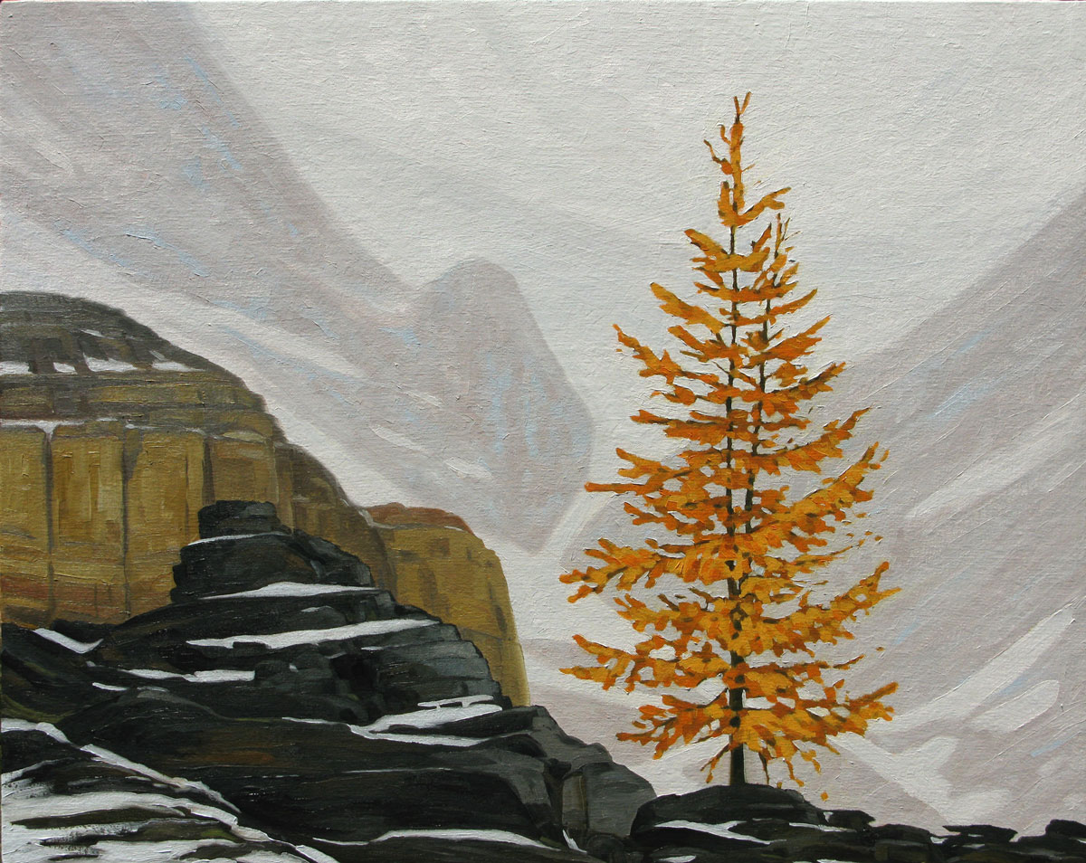 Near Lake O'Hara - 24x30 inch