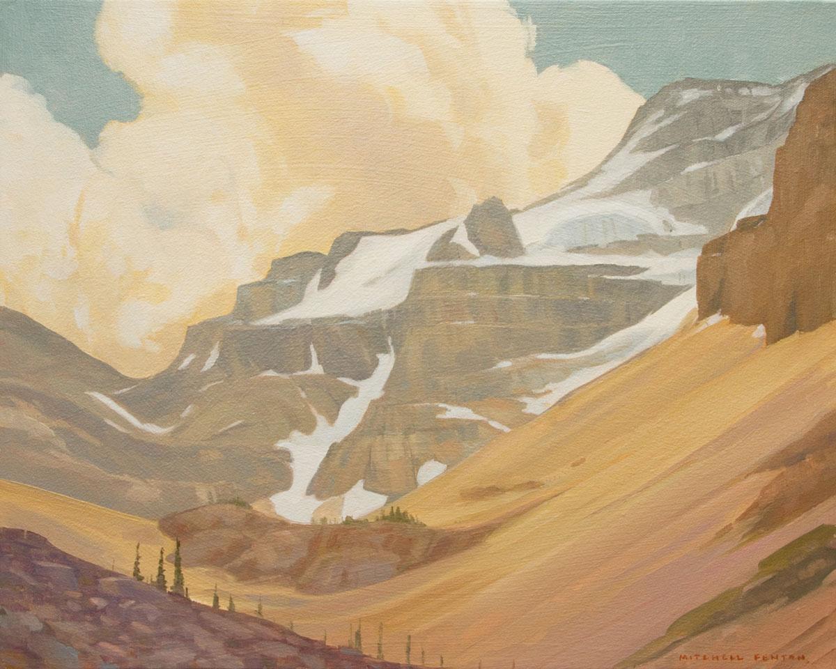 Stanley Glacier - 16x20 inch