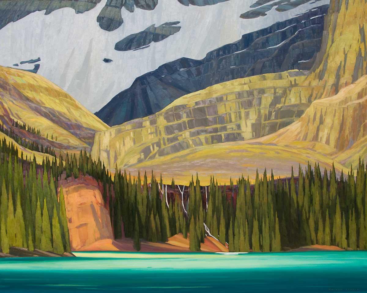 Lake O'Hara - 48x60 inch