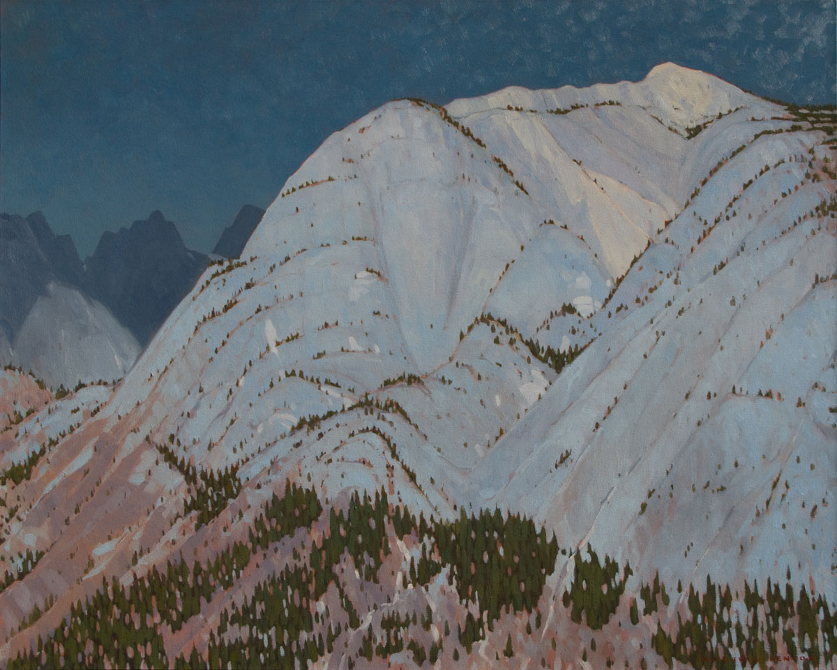 October, Rocky Mountains - 40x50 inch