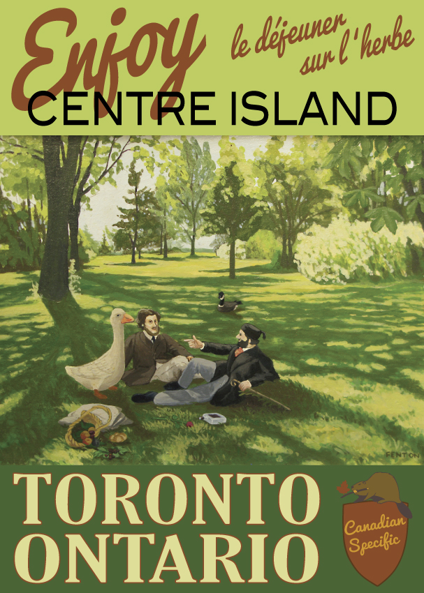 #061 Enjoy Centre Island