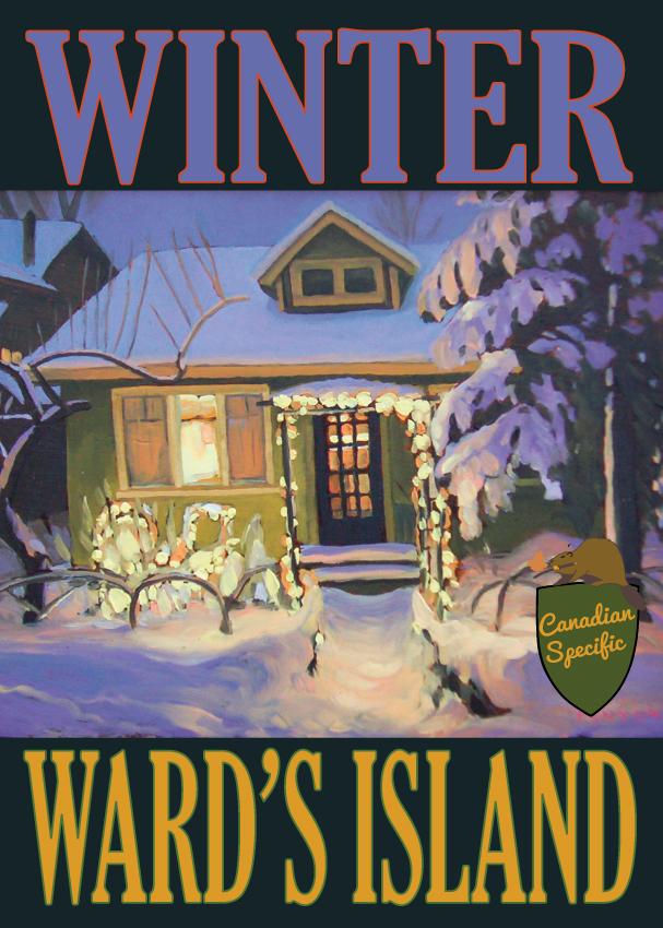 #063 Winter Wards Island