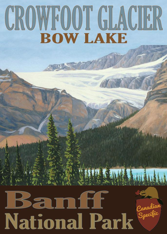 #053 - Crowfoot Glacier