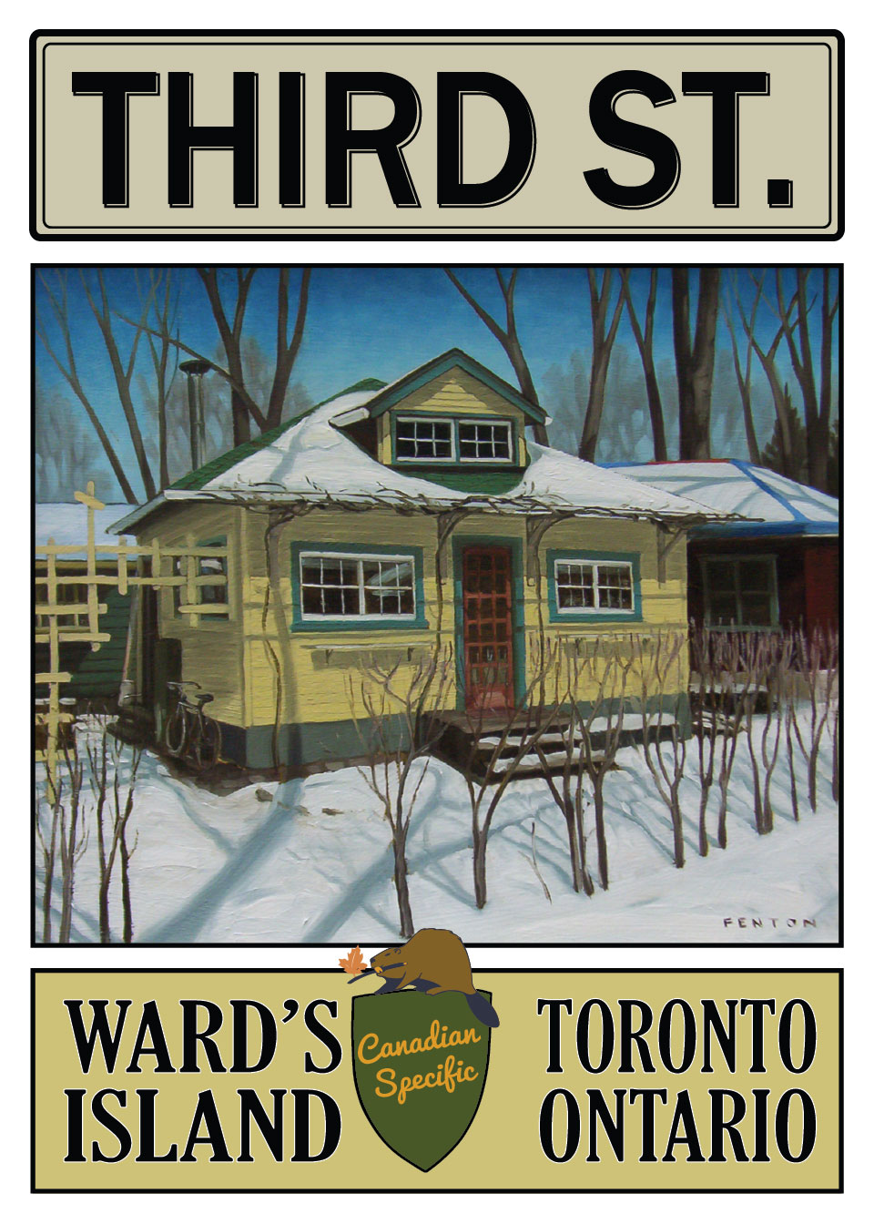 15 Third St, Toronto Island